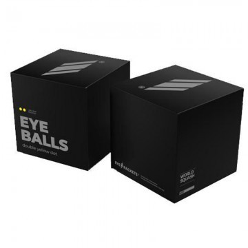 Eye Ball Double Yellow Dot - 12szt