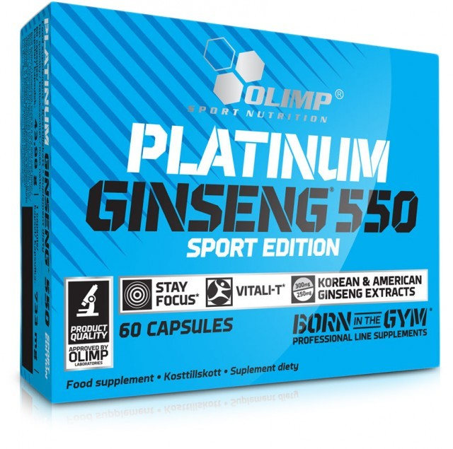 Olimp Platinium Ginseng Sport Edit 550mg