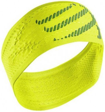 Compressport Headband on/off Fluo Yellow