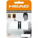 Head  Synthetic Leather Grip White