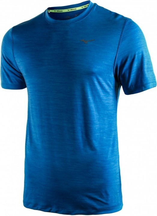 Mizuno Impulse Core Tee Blue Melange