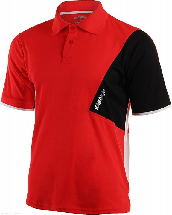 Karakal Dijon Button Polo Red