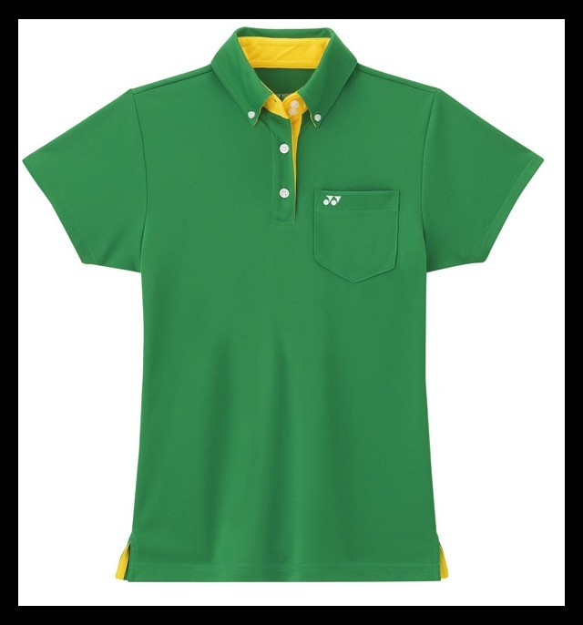 41d3e261a6adc4 Yonex Polo Damskie L2208 Zielone - Ubrania damskie squash - sklep ...