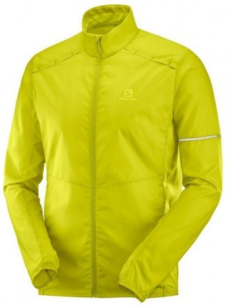 Salomon Agile Wind Jacket Citronelle