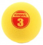 Karakal Mini Yellow Foam Ball piłka do squasha