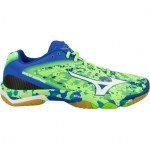 Mizuno Wave Mirage Green Gecko buty do squasha