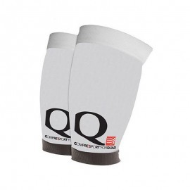 odzież kompresyjna Compressport Quad White