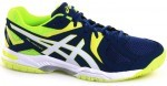 Asics Gel-Hunter 3 White Safety Yellow buty do squasha