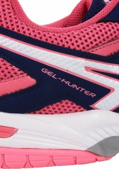 Asics Gel-Hunter 3 Indigo Blue/White/Azalea Pink buty do squasha damskie