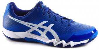 Asics Gel-Blade 6 Blue / White buty do squasha