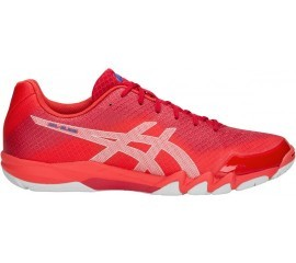 Asics Gel-Blade 6 Red White buty do squasha