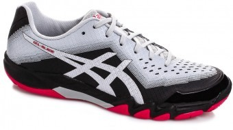 Asics Gel-Blade 6 Black / Silver buty do squasha