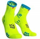 Compressport RacingSocks V3.0 Run Hi Yellow Blue