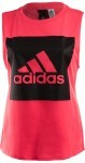Adidas Essentials Logo Sleevless Tee Pink