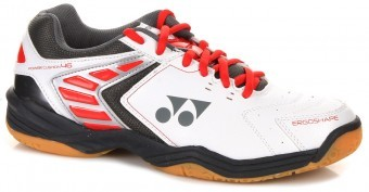 Yonex SHB-46 White-Red buty do squasha