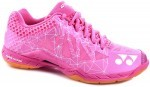 Yonex SHB-Aerus F2 Ladies Pink squash shoes for women