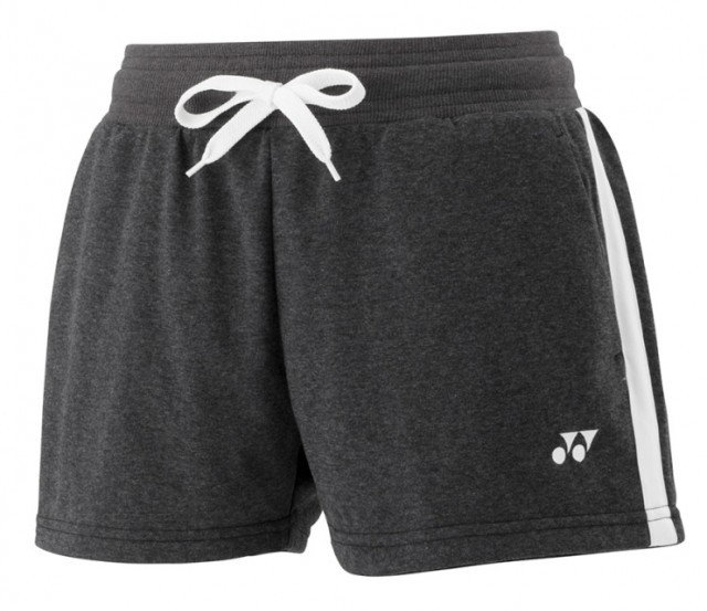 Yonex Sweat Shorts Ladies 0015 Charcoal