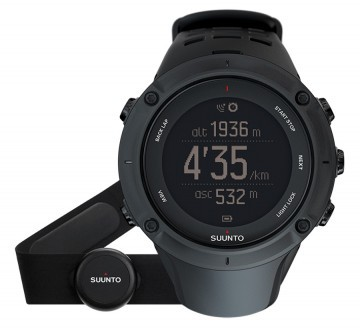 Suunto Ambit3 Peak Black + HR pas do mierzenia tętna - Tester