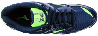 Mizuno Wave Twister Bk/Gr buty do squasha