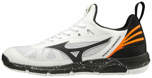 Mizuno Wave Luminous White / Black
