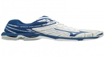 Mizuno Wave Voltage MID White / True Blue