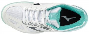 Mizuno Cyclone Speed 2 White / Blue Turquoise