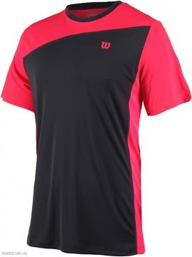 Wilson Rush Colorblock Crew Neon Red