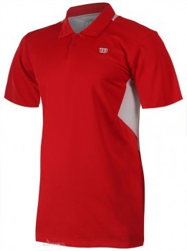 Wilson Great Get Polo Red