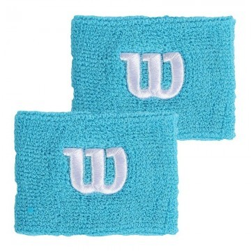 Wilson Wide Wristband Scuba Blue