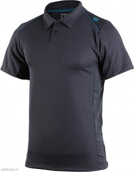 Wilson nVision Elite Polo Coal