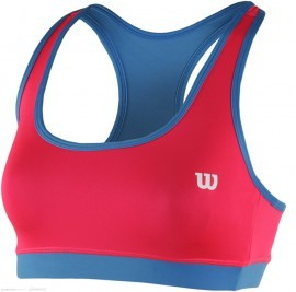 Wilson Rush Reversible Bra NEON RED/NEPTUNE