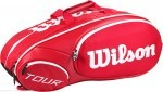 Wilson Mini Tour 6pk Red torba do squasha