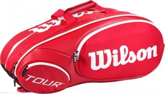 Wilson Mini Tour 6pk Red