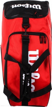 Wilson Match II Duffel 4R Red / Black