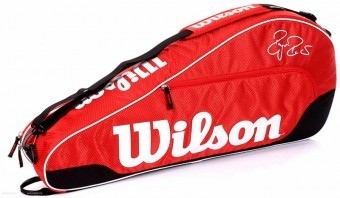 Wilson S16 FEDERER TEAM III TRIPLE Red