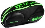 Wilson Vancouver 9 Pack Black/Green torba do squasha