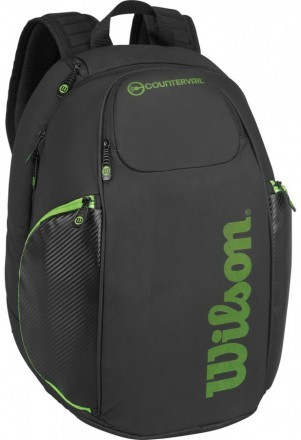 Wilson Vancouver Backpack Black Green