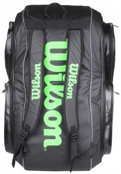 Wilson Tour V 15 Pack Black Green
