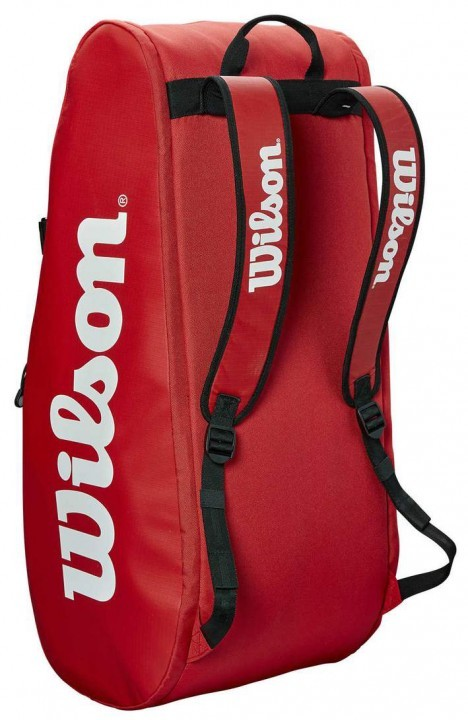 Wilson Tour 2 Compartment Large 9R Bag Red