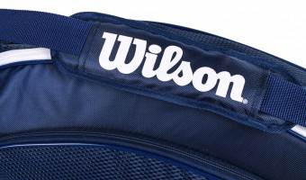 Wilson Team III 3Pack Bag Blue White