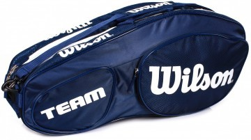 Wilson Team III 6Pack Bag Blue White