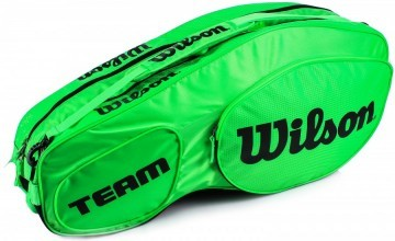 Wilson Team III 6Pack Bag Green Black