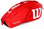 Wilson Team II 3PK Bag Red