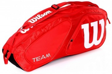 Wilson Team II 3R Bag Red / White