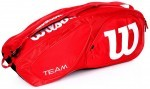 Wilson Team II 6PK Red torba do squasha
