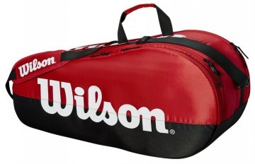 Wilson Team 2 Compartment 9R Bag Black / Red