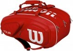 Wilson Tour V 15 Pack Red