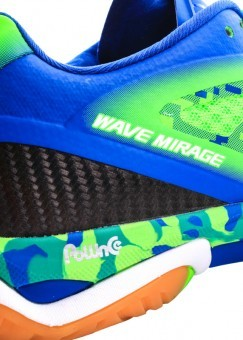 Mizuno Wave Mirage Green Gecko