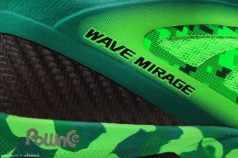 Mizuno Wave Mirage Neon Green