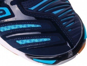 Mizuno Wave Stealth 4 Blue buty do squasha